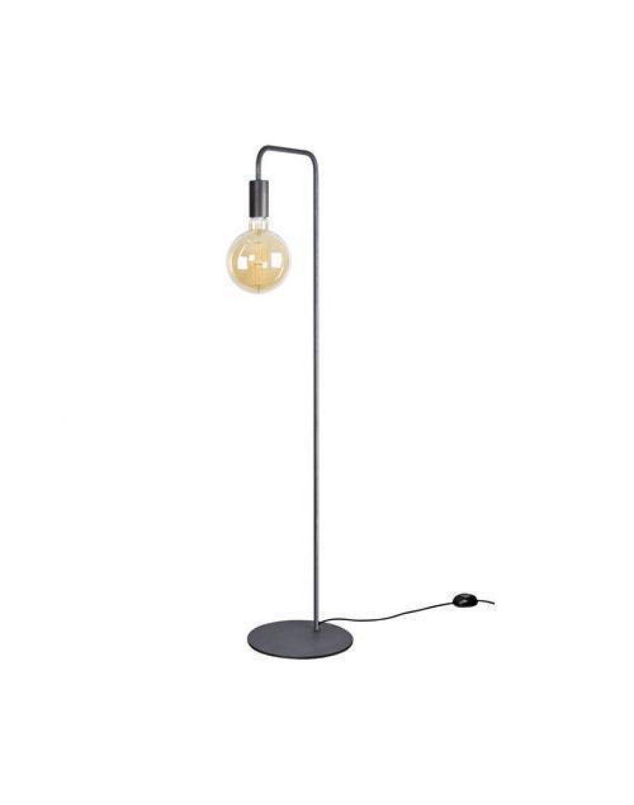 cassano vloerlamp zwart staal ztahl by dijkos gratis led lamp overigen