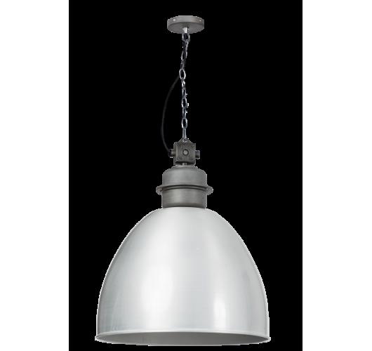 Factory Hanglamp XL Alu Metaal 55 cm (Max. 60w) Plafondlamp
