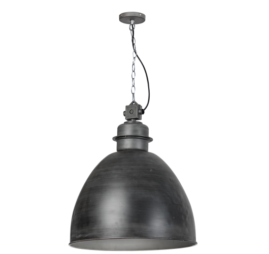 Factory Hanglamp XL Vintage Grey 55 cm (Max. 60w)  Plafondlamp