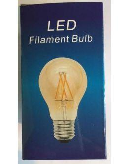 Filament Led A60 4W/40W E27 Goud 2200K 360lm (niet dimbaar)