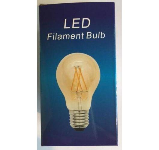 Filament Led A60 4W/40W E27 Goud 2200K 360lm (niet dimbaar) LED-lampen
