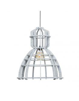 No.19XL Hanglamp PET Felt Marble 60cm by Olaf Weller - Het Lichtlab - Gratis LED globe