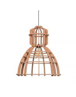 No.19XL Hanglamp PET Felt Nude (Oud Roze) 60cm by Olaf Weller - Het Lichtlab - Gratis LED globe