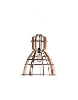 No.19 Industrielamp MDF 40cm by Olaf Weller - het lichtlab - Nu met GRATIS Philips LED lamp!