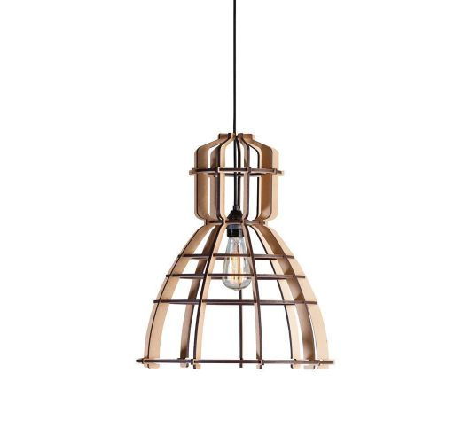 No.19 Industrielamp MDF 40cm by Olaf Weller - het lichtlab - Nu met GRATIS Philips LED lamp! Overigen