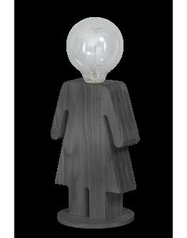 ETH Tafellamp Eva Grey | Hout