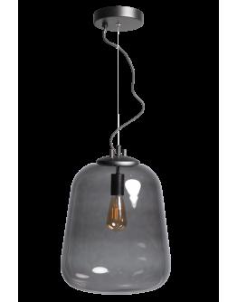 ETH Hanglamp Benn Enkel | Zwart/Smoke