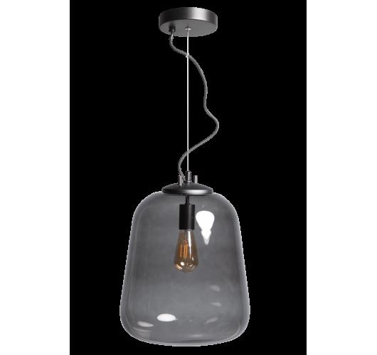ETH Hanglamp Benn Enkel | Zwart/Smoke Hanglampen
