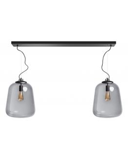 ETH Hanglamp Benn | Zwart/Smoke