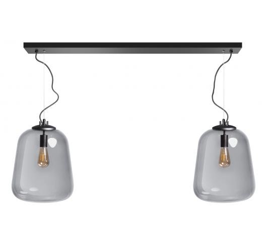 ETH Hanglamp Benn | Zwart/Smoke Hanglampen