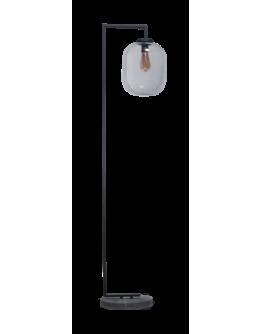 ETH Vloerlamp Benn XL | Zwart/Smoke