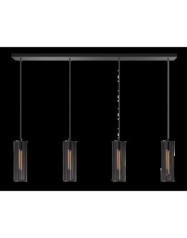 ETH Hanglamp Birdy Balk 120cm / Zwart