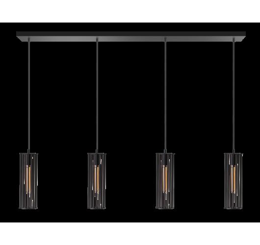 ETH Hanglamp Birdy Balk 120cm / Zwart Hanglampen