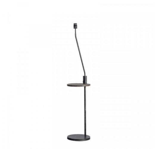 ETH Vloerlamp Butler | Grijs | Met USB Aansluiting Vloerlampen