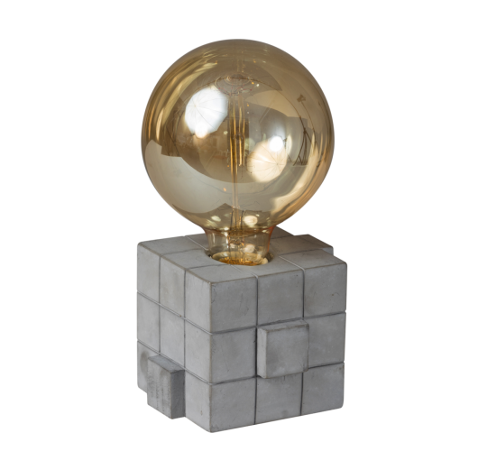 ETH Tafellamp Rubix | Beton Grijs Tafellampen
