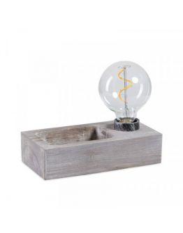 ETH Tafellamp Tray | Bruin/Grijs
