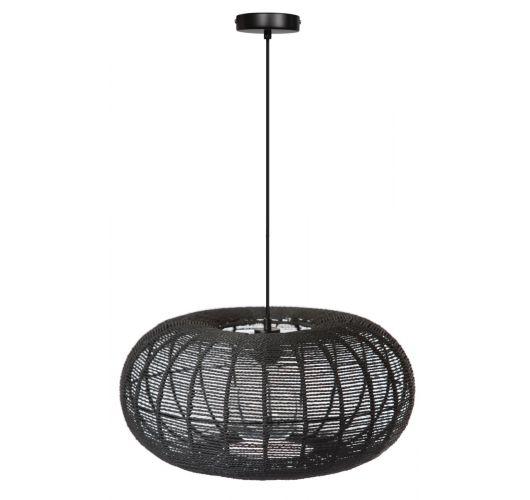 ETH Hanglamp Cosmo Rope | Ø50 CM | Zwart Plafondlamp