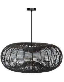 ETH Hanglamp Cosmo Rope | Ø70 CM | Zwart