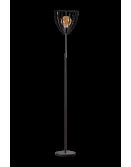 ETH Vloerlamp Dean H 180cm Zwart