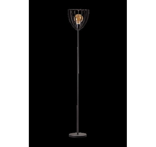 ETH Vloerlamp Dean H 180cm Zwart Vloerlampen