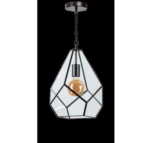 ETH Hanglamp Fame 4467-30   Ø38 CM   Zwart Hanglampen