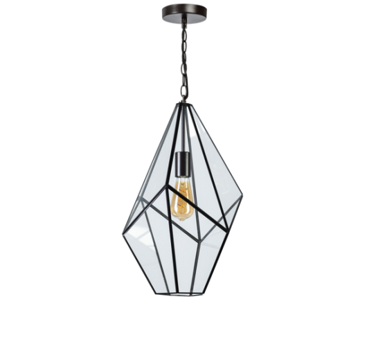 ETH Hanglamp Fame 4469-30 | Ø33 CM | Zwart Plafondlamp