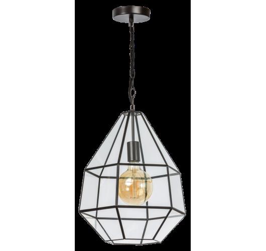 ETH Hanglamp Fame 4493-43 | Ø39 CM | Zwart Plafondlamp