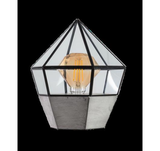ETH Tafellamp Fame 3324-30   Ø23 CM   Zwart Plafondlamp