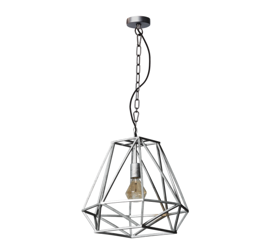 ETH Hanglamp Hope | Ø46 CM | Vintage Zilver Plafondlamp