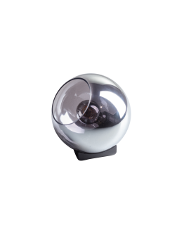 ETH Tafellamp Orb 20cm Smoke Glas/ Zwart