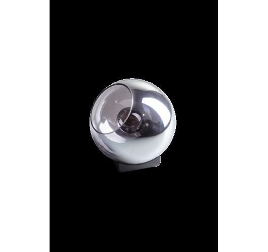 ETH Tafellamp Orb 20cm Smoke Glas/ Zwart Tafellampen