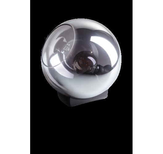 ETH Tafellamp Orb 30cm Smoke Glas / Zwart Tafellampen