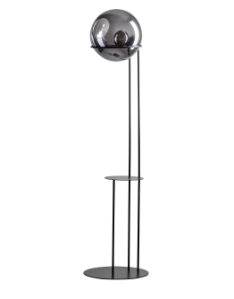 ETH Vloerlamp Orb Ø 40cm / H 203cm en tafel