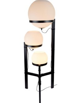 ETH Vloerlamp Orb 3x E27 25-30-40cm / H140cm Opaal Glas