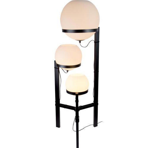 ETH Vloerlamp Orb 3x E27 25-30-40cm / H140cm Opaal Glas Vloerlampen