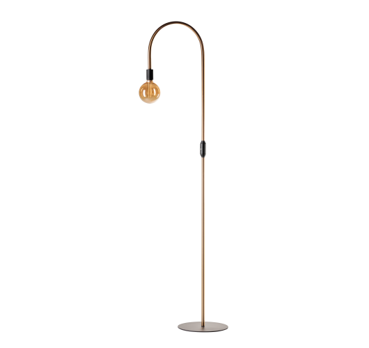 ETH Vloerlamp Pike | Messing/Zwart Vloerlampen