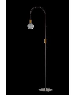 ETH Vloerlamp Pike | Zwart/Messing