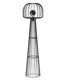 ETH Vloerlamp Steve Curvy | Zwart