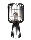 ETH Tafellamp Steve Straight | Zwart Tafellampen