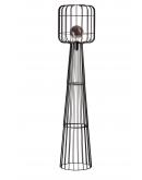 ETH Vloerlamp Steve Straight | Zwart  Vloerlampen