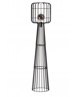 ETH Vloerlamp Steve Straight | Zwart