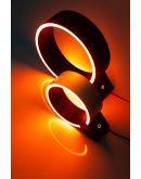 The Q tafellamp led zwart | 20 cm Tafellampen