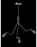 ETH Hanglamp Viper 3 Lichts H 163cm / B 97cm Hanglampen
