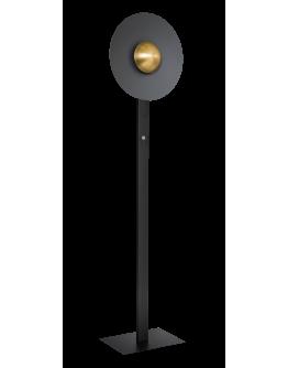 ETH Vloerlamp Sunn | Zwart/Messing