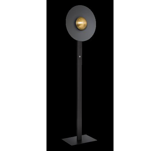 ETH Vloerlamp Sunn | Zwart/Messing Vloerlampen
