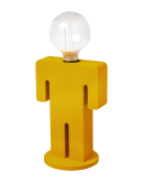 ETH Tafellamp Adam Velvet | Mosterdgeel  Tafellampen