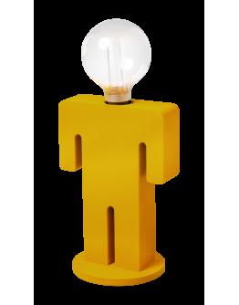 ETH Tafellamp Adam Velvet | Mosterdgeel