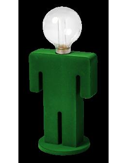 ETH Tafellamp Adam Velvet | Groen