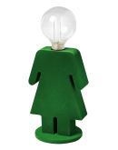 ETH Tafellamp Eva Velvet   Groen Tafellampen
