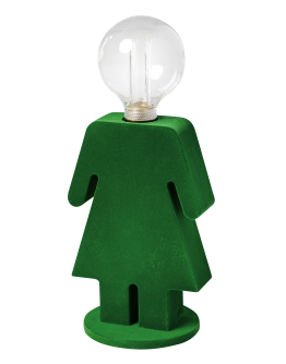ETH Tafellamp Eva Velvet | Groen